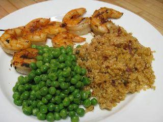 Quinoa-shrimp